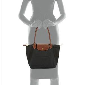 Longchamp Le Pliage Small Shoulder tote black